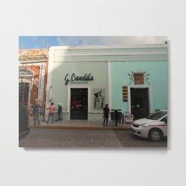 Guayaberas Merida Metal Print