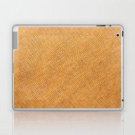Bright hessian texture abstract Laptop & iPad Skin