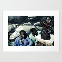 african Art Prints featuring african by NAIK