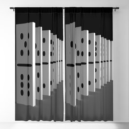 domino effect Blackout Curtain