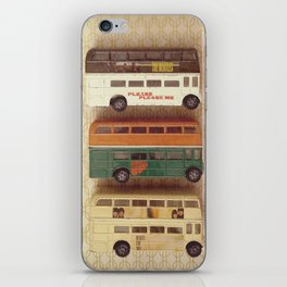 Fab Four Toy Buses iPhone Skin
