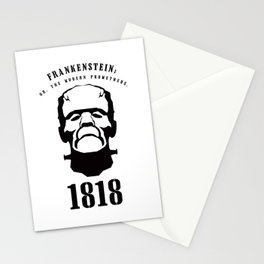 A Century of Horror Classics :: Frankenstein; Or, The Modern Prometheus Stationery Cards