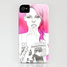 Little Trouble Girl Slim Case iPhone (4, 4s)