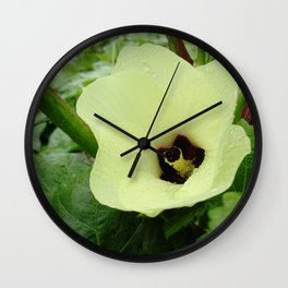 Velvet Butter Wall Clock