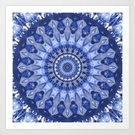 Mandala Coolness Art Print