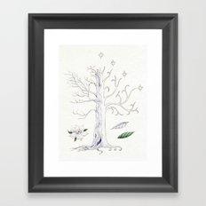 The White Tree of Gondor Framed Art Print