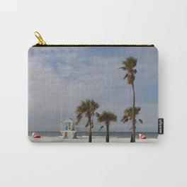 Clearwater Beach In Wintertime Carry-All Pouch