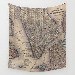 Lower Manhattan New York City Wall Tapestry