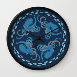 octopuses Wall Clock