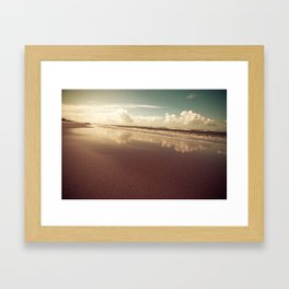 zandvoort beach Framed Art Print