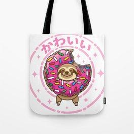 Kawaii Sloth Tote Bag