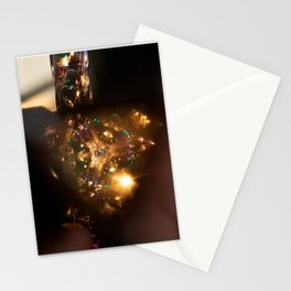 Golden Kaleidoscope Stationery Cards