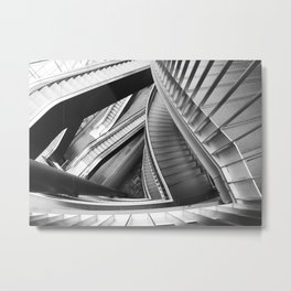 the stairs Metal Print