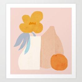 Abstraction_Still_Life_001 Art Print