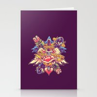 minions Stationery Cards featuring BOWSER NEVER LOVED ME by BeastWreck