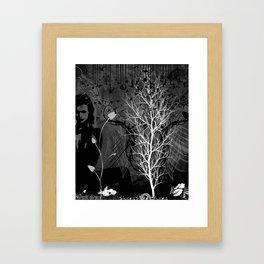 Blacky Framed Art Print