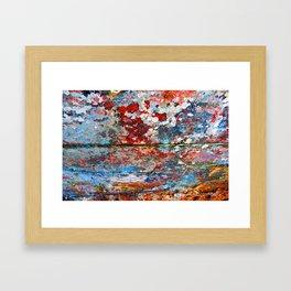 Impression Sunset III Framed Art Print