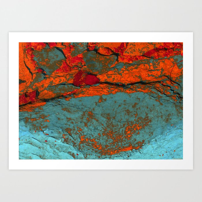 """A Smudge of Mars"" Art Print"