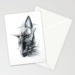 The eye. Stationery Cards