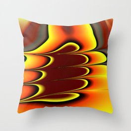 Troubled Direction Throw Pillow