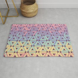 Holographic Candy Geometric Rug