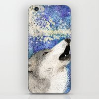 howl iPhone & iPod Skins featuring Howl by Georgia Roberts