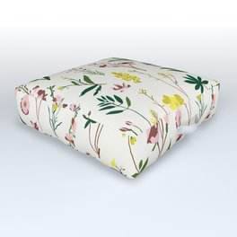 WILDFLOWER STUDY Outdoor Floor Cushion