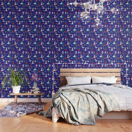 Tortoise and the Hare is one of Aesop Fables blue Wallpaper