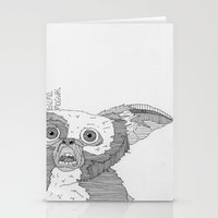 gizmo Stationery Cards featuring Gizmo / Mogwai. by Bundles of Film