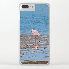 Standing Solo Clear iPhone Case