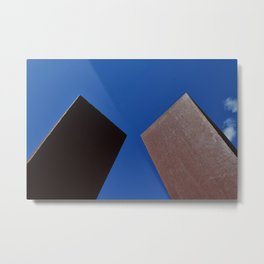 "Sky Park l ""Square Up"" Metal Print"