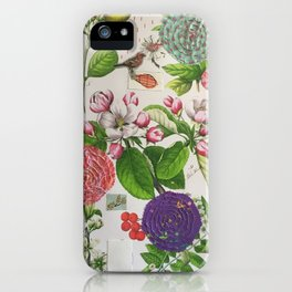 Hydrangea Botanical iPhone Case