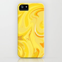 yellow sound iPhone Case