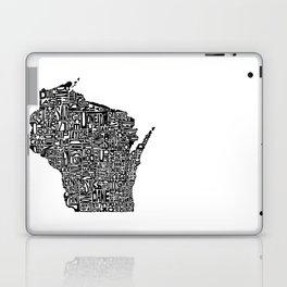 Typographic Wisconsin Laptop & iPad Skin