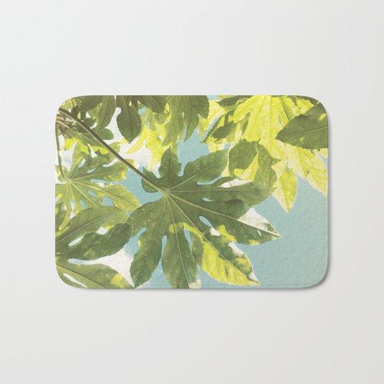 Fig Leaves Bath Mat