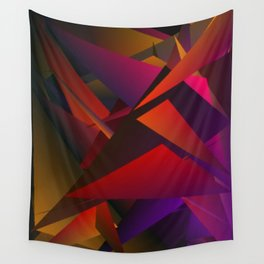 Smoke Screen Abstract 1 Wall Tapestry