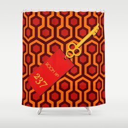 Room No. 237 Shower Curtain