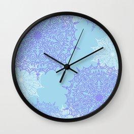 Cotton Candy Dream Wall Clock