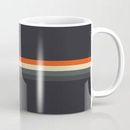 Fujitaka - Classic Dark Retro Stripes Coffee Mug
