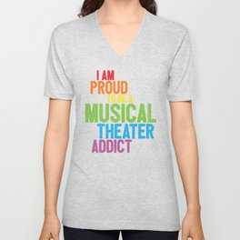 Musical Theater Pride Unisex V-Neck