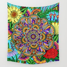 Flower New Wall Tapestry