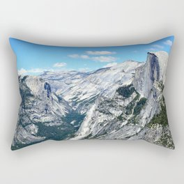Half Dome View Rectangular Pillow