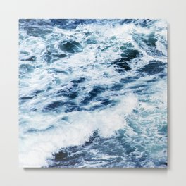 Each Wave Brings You CLOSER To the Shore Metal Print