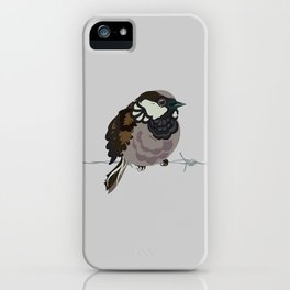 Little sparrows iPhone Case