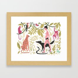 Fermina in the Amazon Framed Art Print