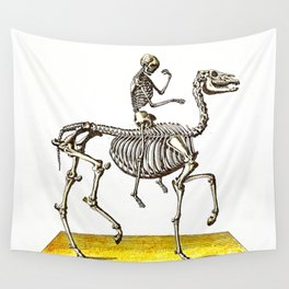 Horse Skeleton & Rider Wall Tapestry