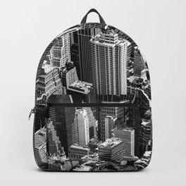 Manhattan in monochrome Backpack