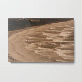 Waves, waves and more waves Metal Print