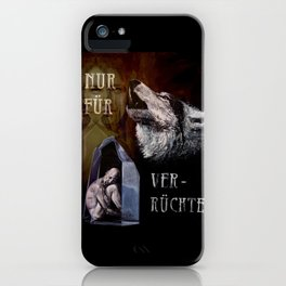 For Madmen only... iPhone Case