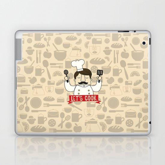 Let's Cook! Laptop & iPad Skin
